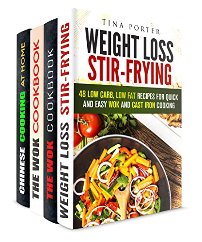 The Best of Stir-Fry Box Set (4 in 1): Mouthwatering Recipes for Everyday Cooking (Wok & Stir-Fry) by Tina Porter, Jessica Meyer, Carmen Haynes, Tina Zhang