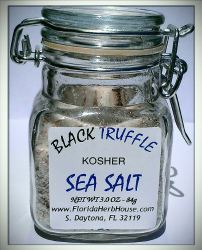 Black Truffle Sea Salt 3.0 oz. (84g) - Organic