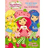 Strawberry Shortcake: Glitz & Glam Big Best Book to Color with Stickers (Dalmatian Press)
