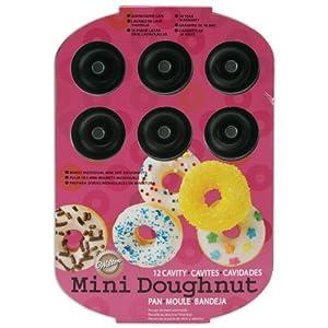 Wilton Nonstick 12-Cavity Mini Donut Pan