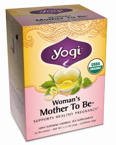 Yogi Tea Womans Mother To Be Pregnancy Support Organic Healing Formula - 16 Ea (Pack Of 2)