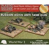 ロシア 45mm 対戦車砲