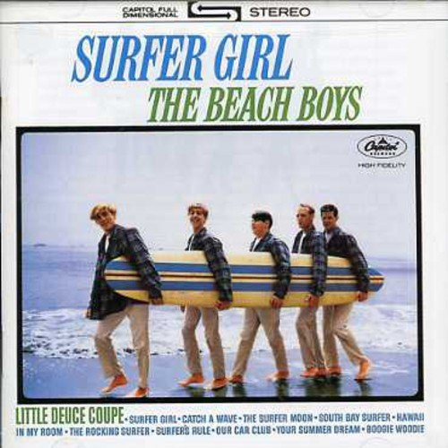 CD : The Beach Boys - Surfer Girl/ Vol. 2-Shut Down (United Kingdom - Import)