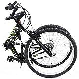 Stowabike 26 MTB V2 Folding Dual Suspension 18 Speed Gears Mountain Bike