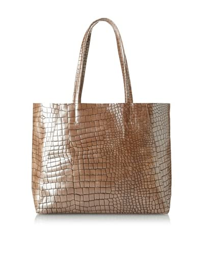 Streets Ahead Women's Classic Small Tote, Rhodium Alligator As You See