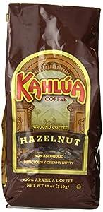 Kahlua Gourmet Ground Coffee, Hazelnut, 12 Ounce