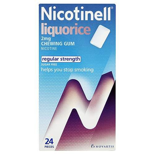 Nicotinell Chewing Gum 2mg Liquorice - 24 Pieces