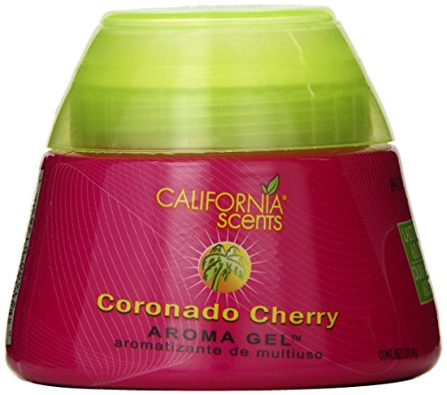 California Scents Aroma Gel, Coronado Cherry, 7.46-Ounce Jars (Pack of 12) (Cherry Shaped Air Freshener compare prices)