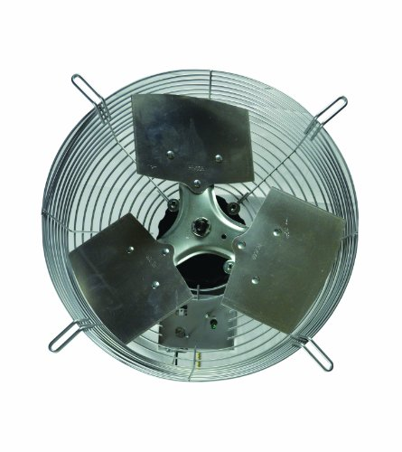 "Tpi Corporation Ce-20-D Direct Drive Exhaust Fan, Guard Mounted, Single Phase, 20"" Diameter, 120 Volt"