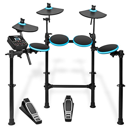 alesis-dm-lite-kit-5-piece-electronic-drum-set-with-collapsible-4-post-rack-drum-sticks-included