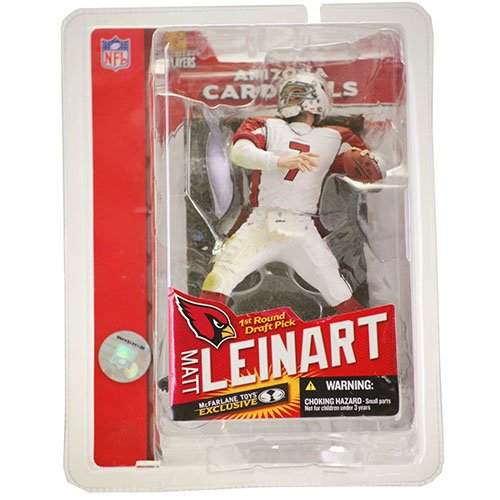 McFarlane Toys NFL Sports Picks Collectors Club Exclusive Action Figure Matt Leinart 1st Round Draft Pick (Arizona Cardinals)