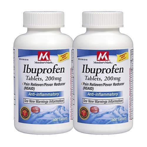 Member's Mark Ibuprofen Pain Reliever/fever Reducer 200 Mg, 1000-Count