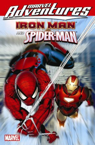 Amazon.com: Marvel Adventures Iron Man / Spider-Man (9780785141174): Fred Van Lente, Paul Tobin, Bob Layton, David Michelinie, Gerry Conway, Matteo Lolli, James Cordeiro, Butch Guice: Books