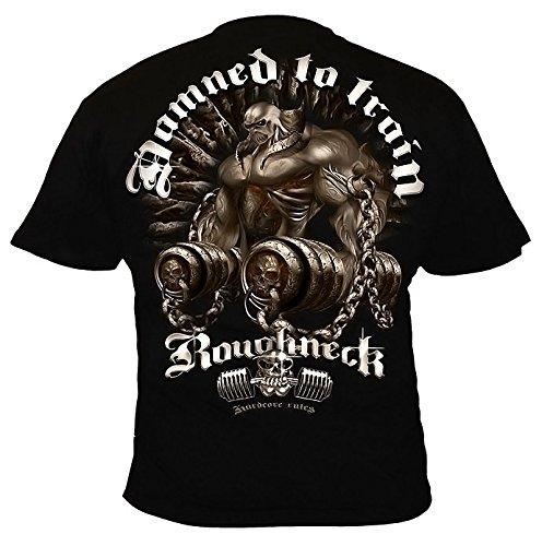 MR11 rough Neck Chains of Pain T-shirt da uomo Nero  nero