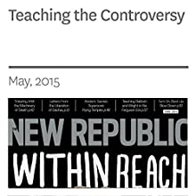 Teaching the Controversy (       UNABRIDGED) by Benjamin Anastas Narrated by C. James Moore