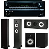 Onkyo TX-NR636 7.2-Channel Network A/V Receiver Plus A Boston Acoustics Classic II Home Theater Speaker Package... by Onkyo