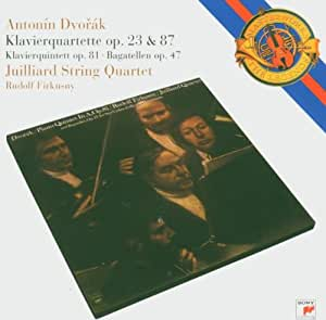 Dvorak :  Quatuors avec piano Op. 23 et  87 - Quintette avec piano Op. 81