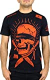 Affliction Mens See No Evil T-Shirt XL Black