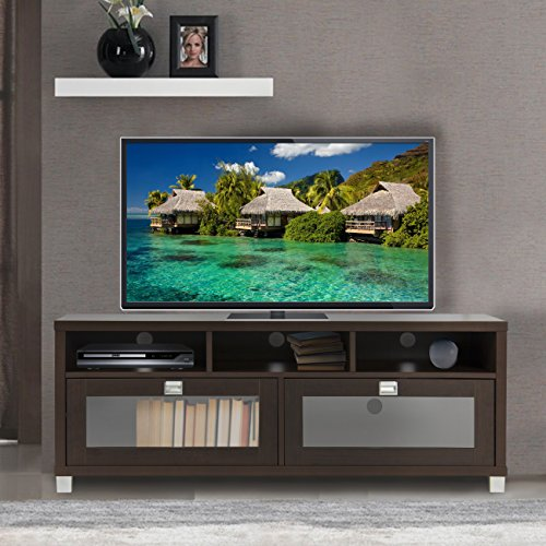 Best Choice Products TV Stand Storage Home Entertainment Furniture Home Theater Media Center