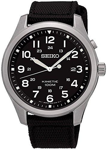 [セイコー]SEIKO 腕時計 KINETIC BLACK キネティック ブラック SKA727P1 メンズ [逆輸入]