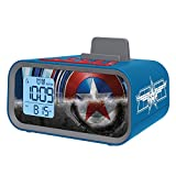 Avengers Initiative Dual Alarm Clock Speaker System, MC-M23