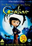Coraline - 2 Disc Limited Edition (Includes the 2D and 3D Version and 4 Pairs of 3D Glasses) [DVD]