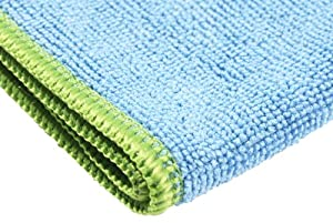 Starfiber Microfiber Miracle Cleaning Cloth, 16-Inch by 16-Inch, Blue