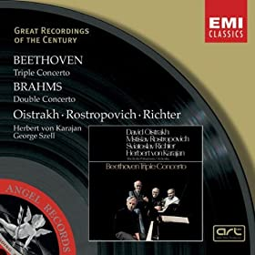 Beethoven: Triple Concerto/Brahms: Double Concerto