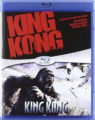 King Kong (2005) + King Kong (1976) (Blu-Ray) (Import Movie) (European Format - Zone B2) (2011) Jeff Bridges;