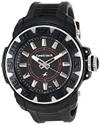 Fastrack Analog Black Dial Mens Watch - NE9334PP02J