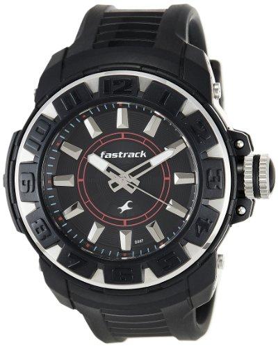 Fastrack Analog Black Dial Mens Watch - NE9334PP02J
