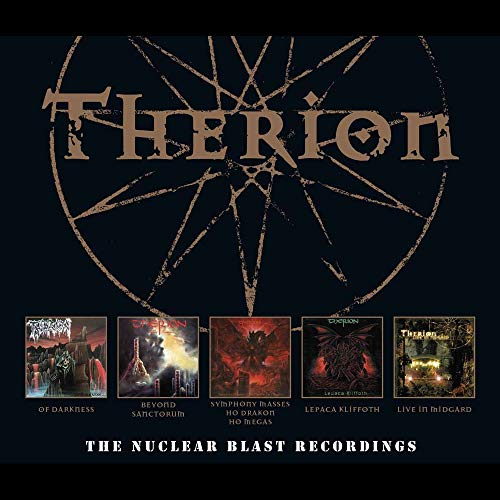 CD : Therion - Nuclear Blast Recordings (CD)