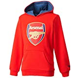 2015-2016 Arsenal Puma Fan Hoody (Red) - Kids