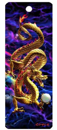 Golden Dragon 3-D Bookmark