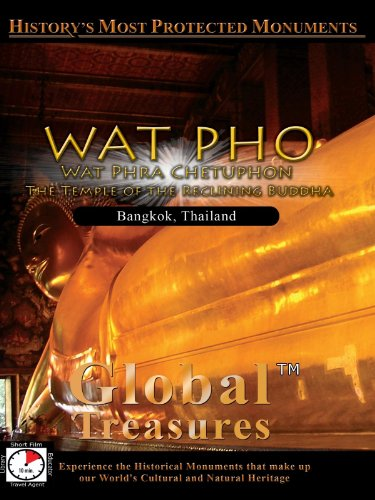 Global Treasures WAT PHO Wat Phra Chetuphon The Temple of the Reclinning Buddha Bangkok, Thailand