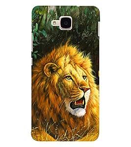 EPICCASE Lion Art Mobile Back Case Cover For Huawei Honor 5c (Designer Case)