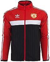 Adidas Mens Originals Manchester United Full Zip Windbreaker