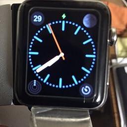 Apple Watch 42mm Black Classic Buckle Smart Watch