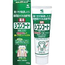 シコンコート 虫歯予防 研磨剤無しで歯にやさしい 薬用ハミガキ ミントの香り 110g