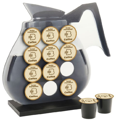 October Hill K-Cup Holder, Coffee Pot front-182941
