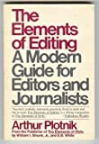 The ELEMENTS OF EDITING (0025977008) by Plotnik