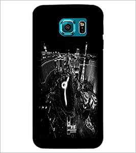 PrintDhaba Pattern D-2160 Back Case Cover for SAMSUNG GALAXY S6 EDGE (Multi-Coloured)
