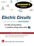 img - for Schaum's Outline of Electric Circuits, 6th edition (Schaum's Outlines) book / textbook / text book