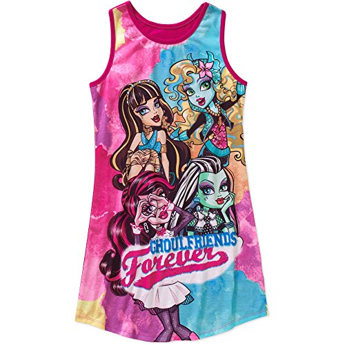 Monster High Nightgown Sleep Gown Big Girls