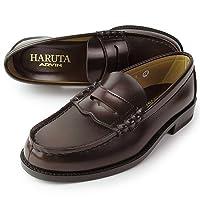 【ハルタ】 HARUTA 6550 [3E]  メンズ ローファー ジャマイカ (こげ茶色) [24.5-27.5cm]