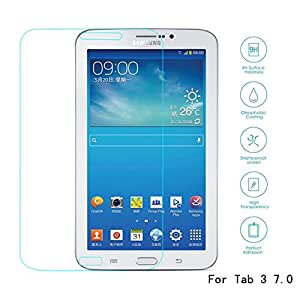 FEYE Super Ultra Crystalline Real Tempered Glass Screen Protector for Samsung Galaxy Tab 3 7.0