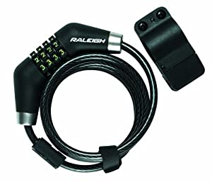 Raleigh Combo Lock, 185cmx8mm