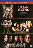 Triple Feature: Urban Legend, Urban Legends: Final Cut & Urban Legends: Bloody Mary