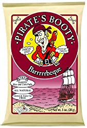 Pirate's Booty, Barbeque, 1-Ounce Bags (Pack of 24)