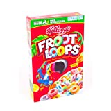 Kelloggs Froot Loops Sooper Loopers Cereal 12.2 oz